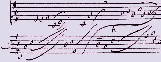 Louis Couperin : prélude non mesuré